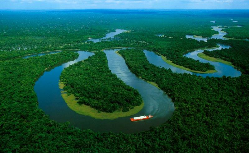 Реки планеты