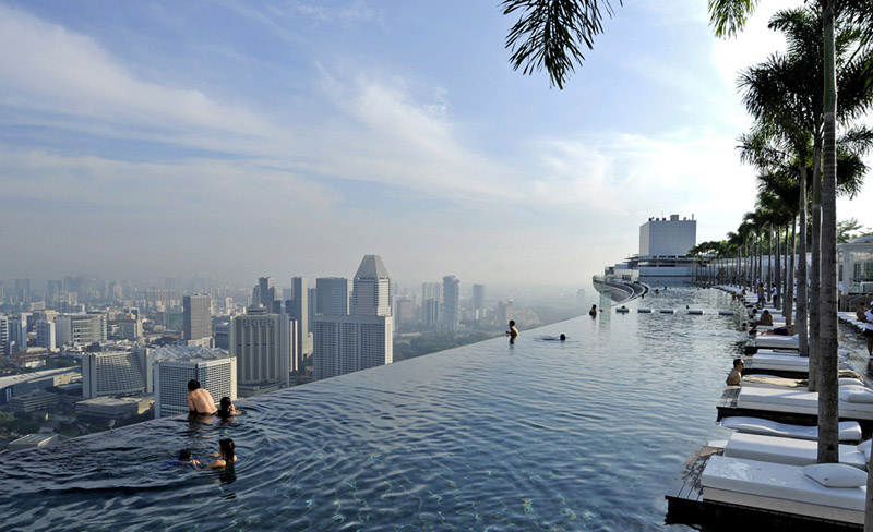 ������� �� ����� ����� Marina Bay Sands