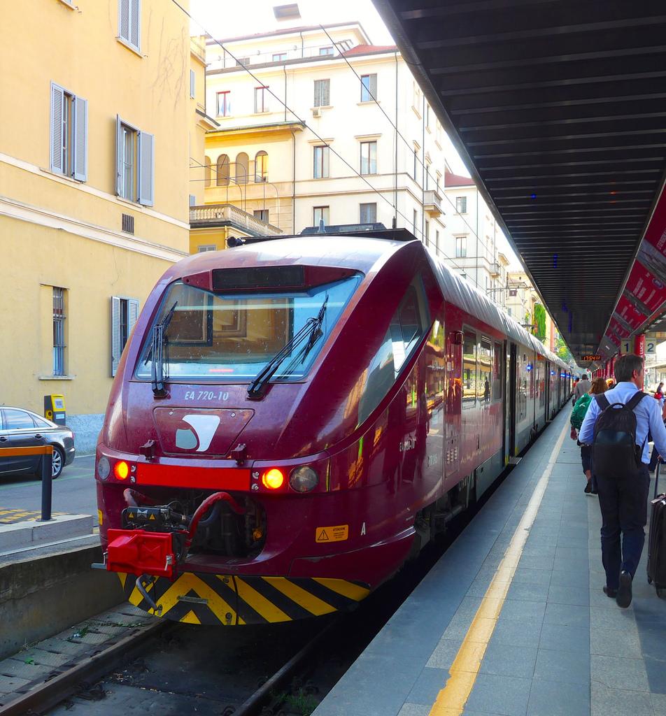 Как добраться из аэропорта Malpensa в центр Милана