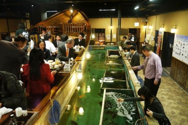 Необычные рестораны Японии