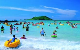 Пляжный отдых с малышом на острове Чеджу
