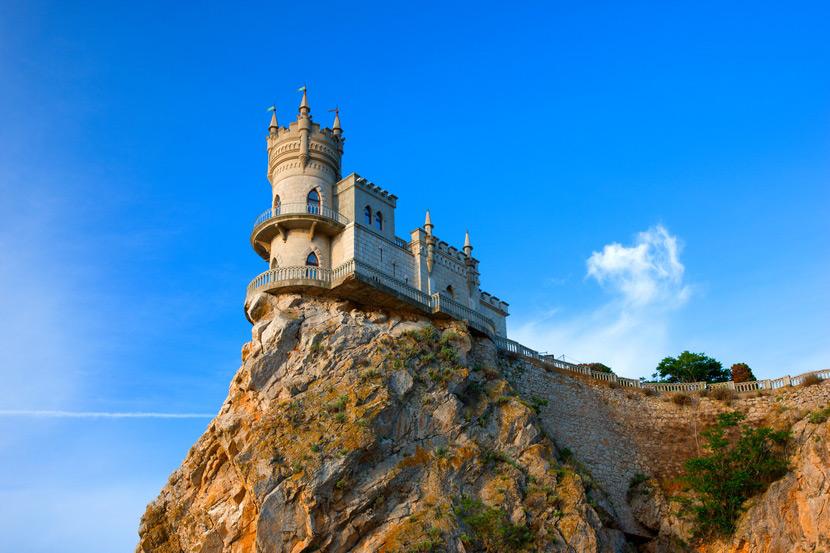 Культурное наследие Крыма в прекрасных замках
