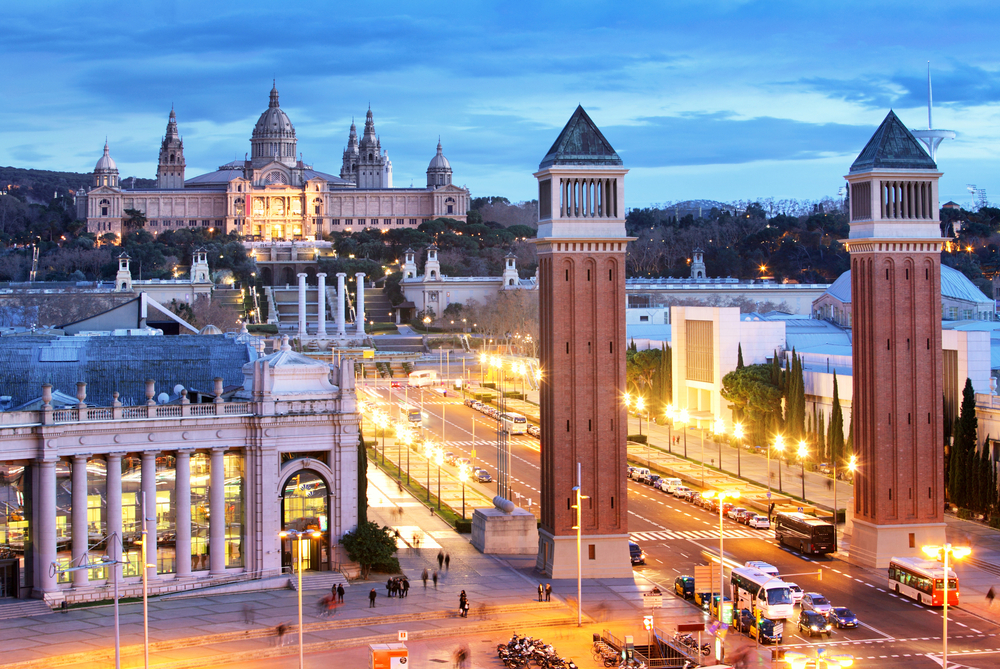 Впервые в Барселоне