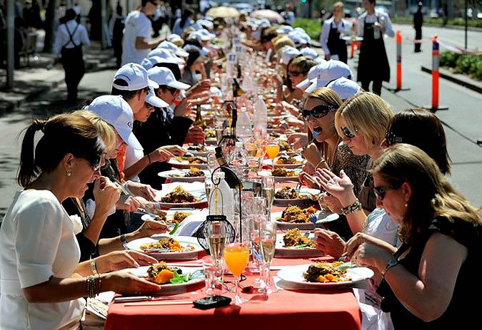 Праздники еды в россии