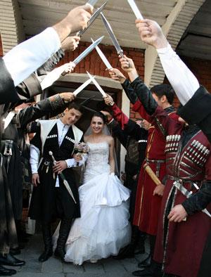 Что дарят в грузии на свадьбу