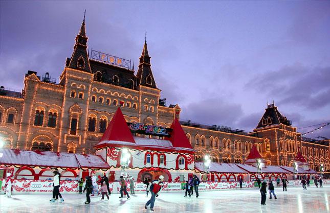 Чем заняться зимой в Москве