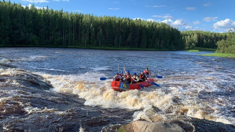 Сплав по реке Шуя от RST-tur