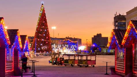 Новогодние каникулы в Ульяновске