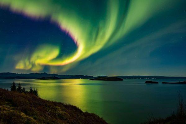 Туристы увидят северное сияние с высоты